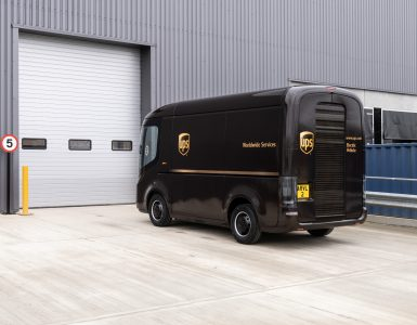 UPS Electric Delivery Vehicles