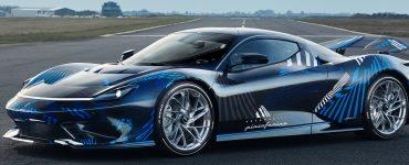 Electric Luxury Hypercar
