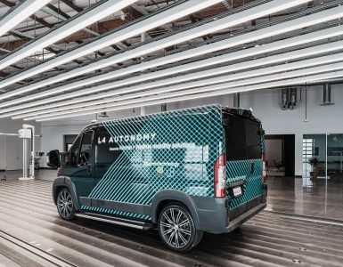 Autonomous Van E-Flex Platform