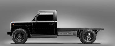 Electric Commercial Truck Platform Platform