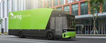 Zero-Emission Delivery Truck