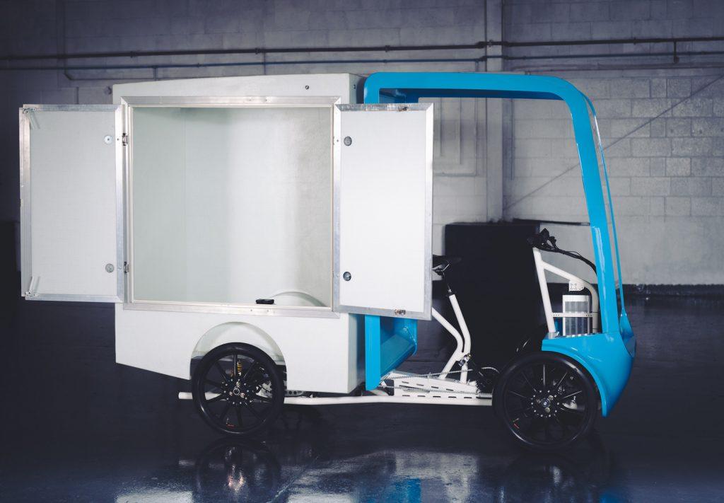 EAV eCargo Chassis Cab Platform
