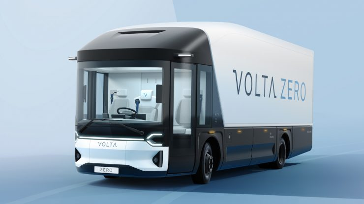 All-Electric 16 Tonne Truck