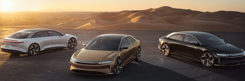 Luxury Electric Sedan