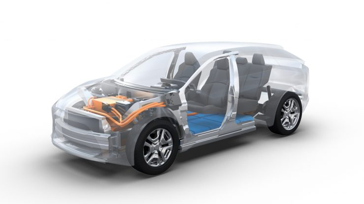 Subaru All-Electric Vehicle