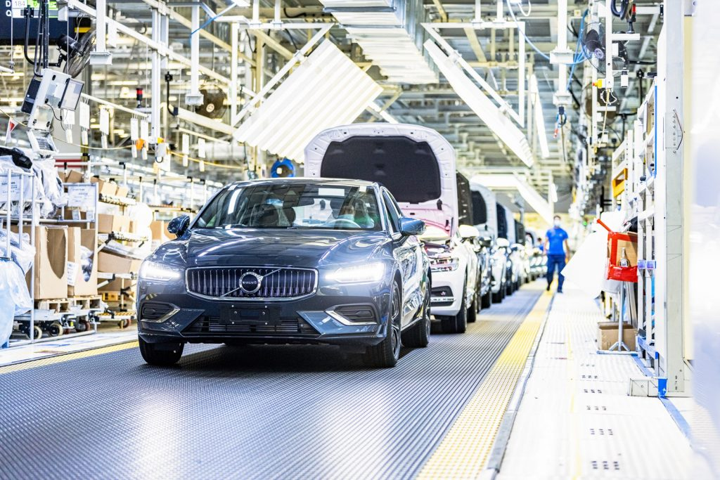 Climate Neutral Electricity Car Plant