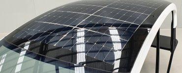 Polycarbonate Solar Vehicle