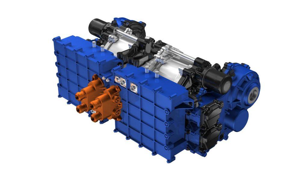 YAMAHA Hyper-EV Electric Motor