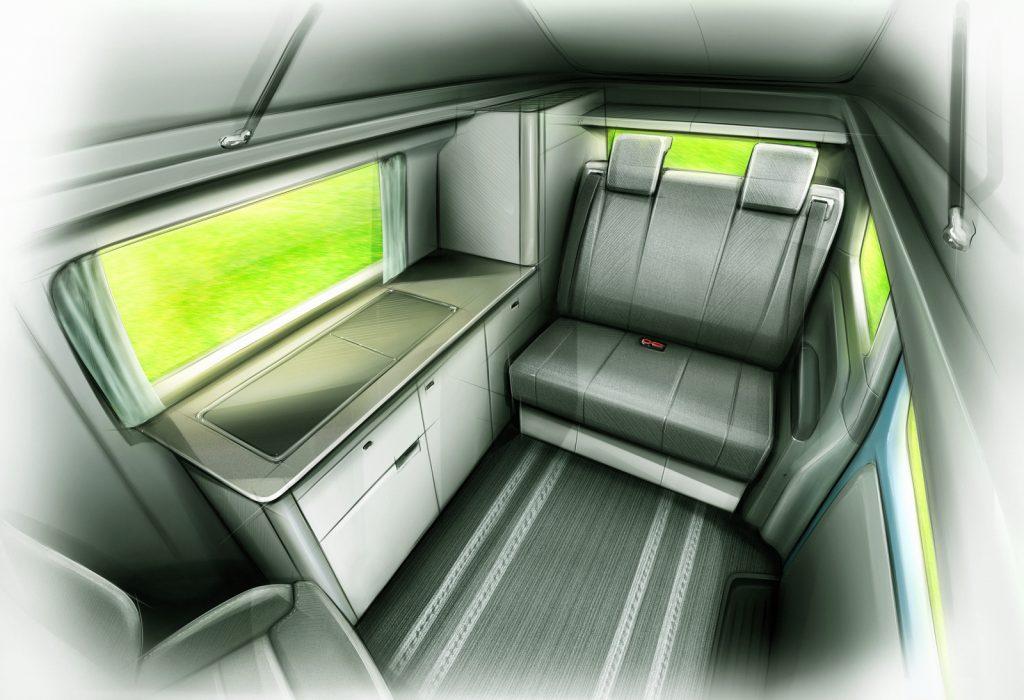 Electric Campervan Inside
