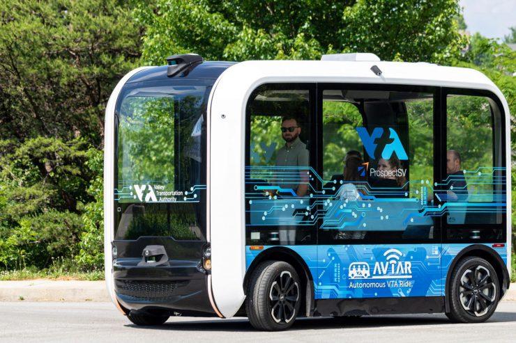 Olli 2.0 electric autonomous shuttles