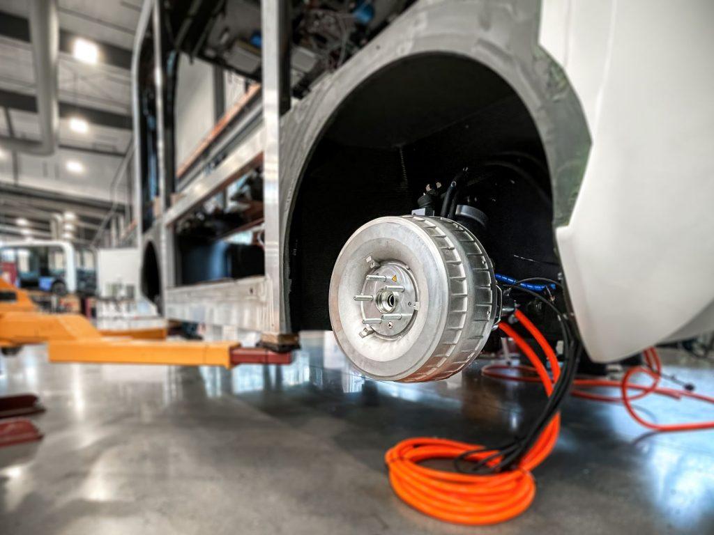 ProteanDrive in-wheel Motors
