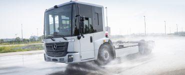 Mercedes-Benz eEconic Testing