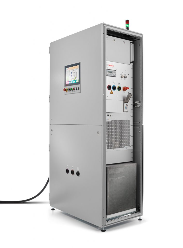 Portable compact control cabinet for testing high voltage components