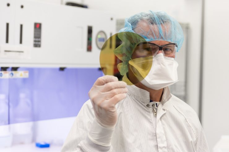 Silicon Carbide Wafers for EVs